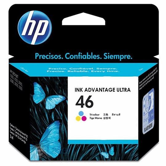 HP 46 Cartridge color 750 Pág. 2529/4729