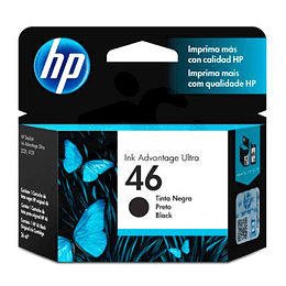 HP 46 CARTRIDGE HP NEGRO 1500 PAG. 2529/4729