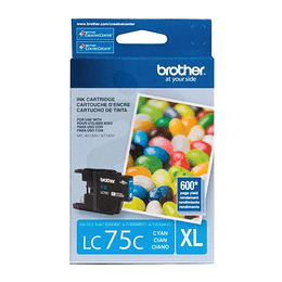 LC75C Cartridge Cyan Brother