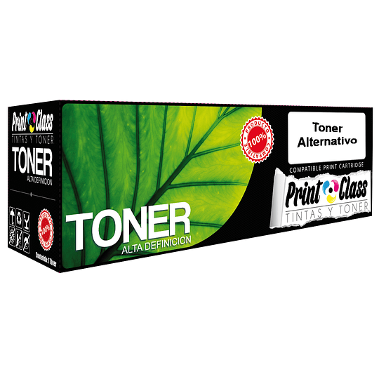 Ce320A Toner Alternativo Negro (128A) Compatible Hp