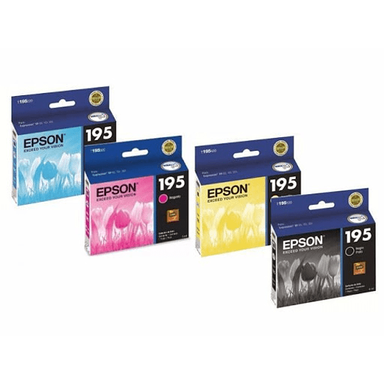 195 Epson Pack 4 Colores