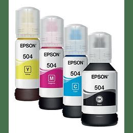 504 Epson pack Ecotank linea L