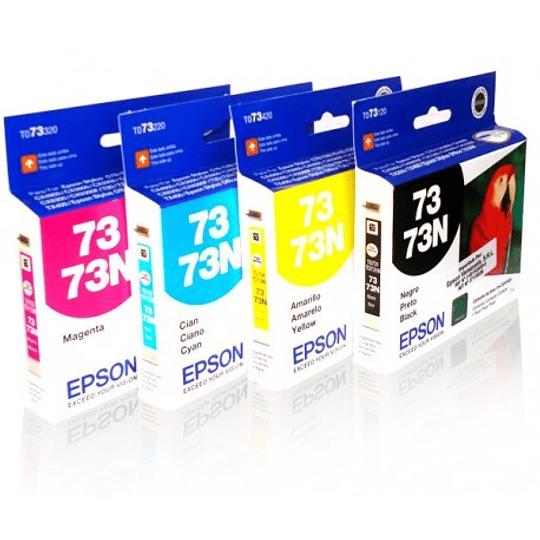 73N Pack 4 Cartuchos Colores BKCYM