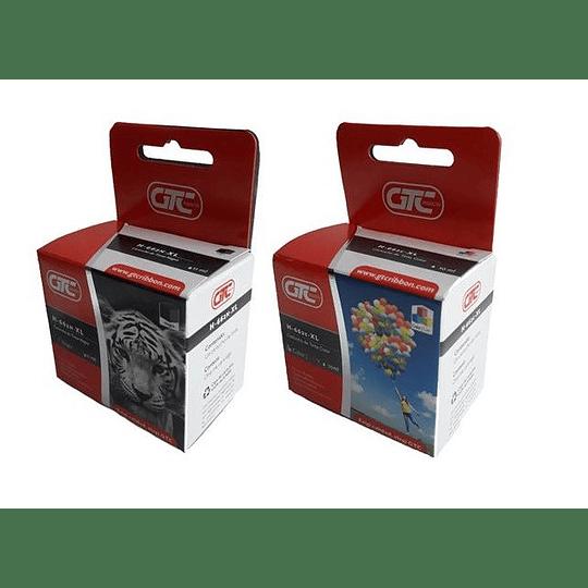 662XL Pack 2 cartuchos, 1 negro y 1 tricolor Comp. hp, Cartucho Tinta GTC