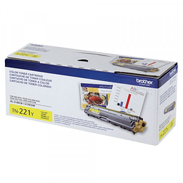 Tn221 Toner Brother Yellow