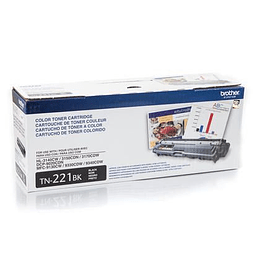 Tn221 Toner Brother Negro