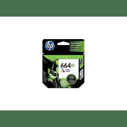 664XL Color HP Cartucho Tinta