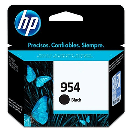 HP Cartridge Negro 954