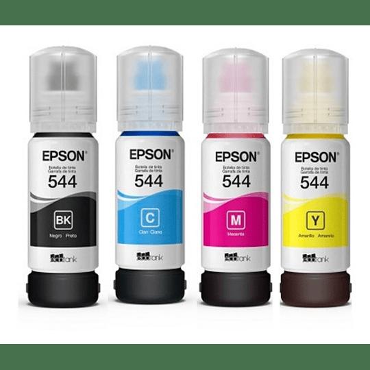 Pack Epson 544 BK,C,Y,M TINTAS ORIGINALES EPSON