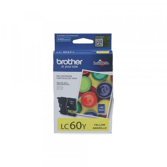 LC60 Yellow Cartridge Brother