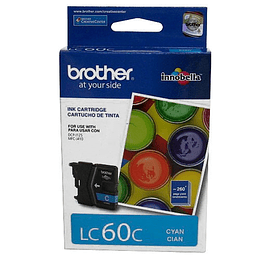 LC60 Cyan Cartridge Brother