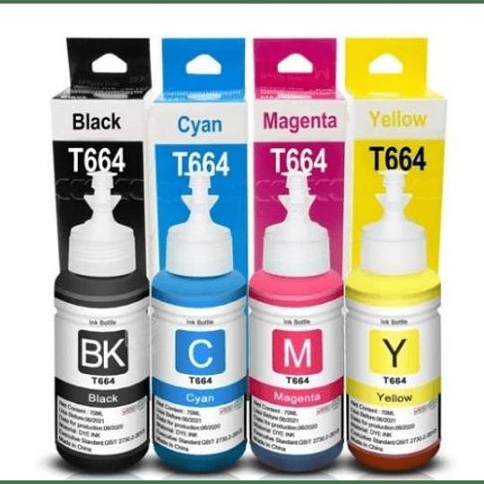 664 Epson Botella alternativa Magenta compatible Ecotank linea L