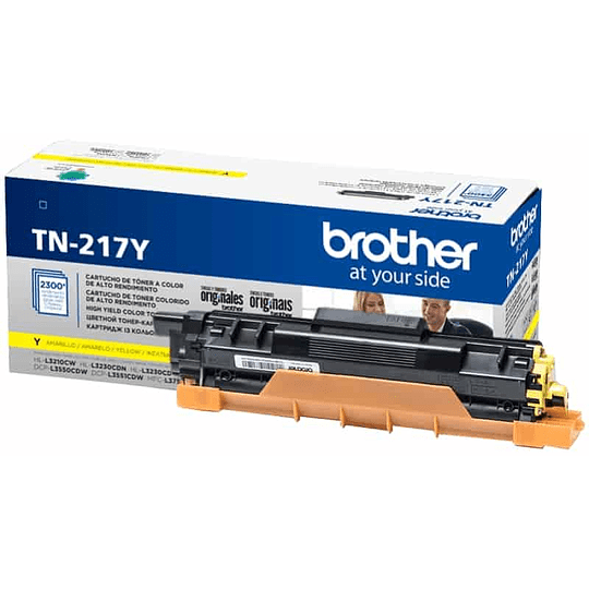TN217 Toner Brother Yellow