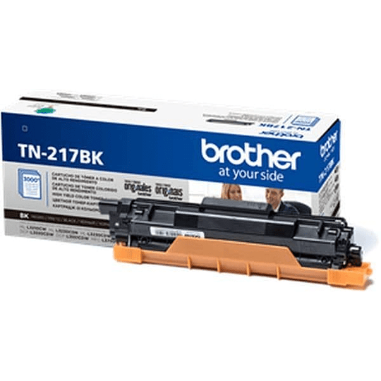 TN217 Toner Brother Negro