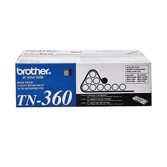 Tn360 Toner Original Negro Brother