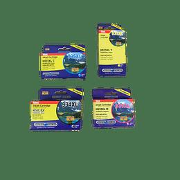 934XL y 935XL Alternativo compatible Pacific Color