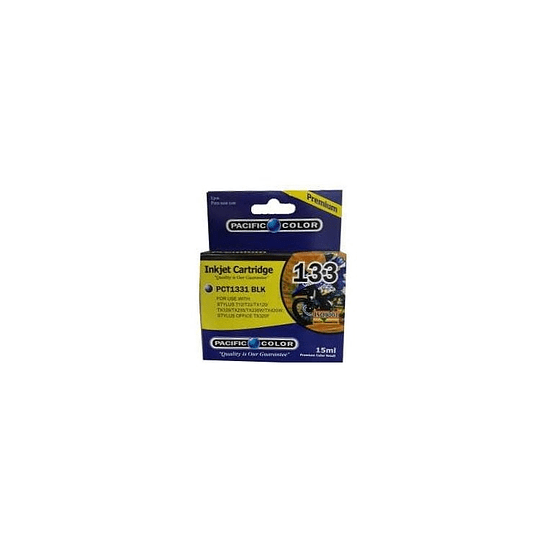 133 Negro Cartridge Alternativa Comp Epson Pacific Color