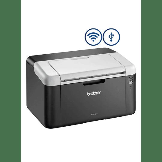 Brother impresora laser HL1212W B-N/WiFi/21 PPM/USB
