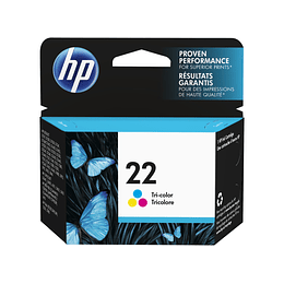 Hp 22 Color Cartridge Original