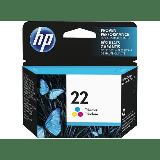 Hp 22 Color Cartridge Original