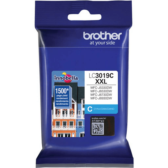 LC3019 Cyan Brother cartridge para 1500 paginas cyan