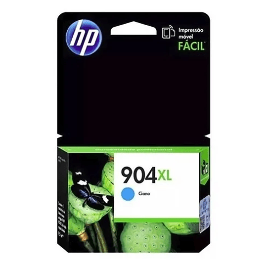 HP 904XL Cyan Cartridge Alta capacidad