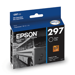 297 Epson Cartridge T297120 High Cap Negro