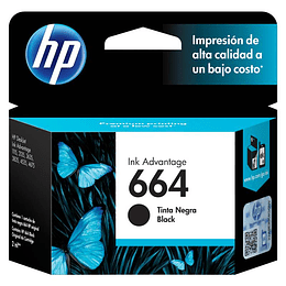 Hp 664 Negro Cartridge Original 2ml