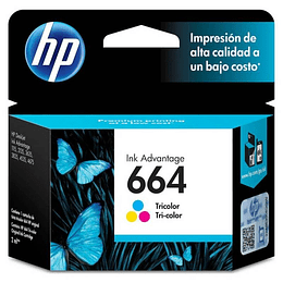 Hp 664 color Cartridge Original 2ml