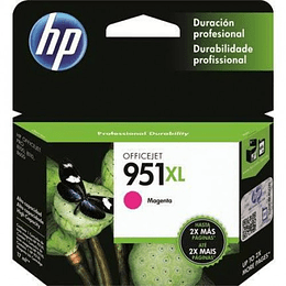 Hp 951XL magenta Cartridge Original Alto Rendimiento