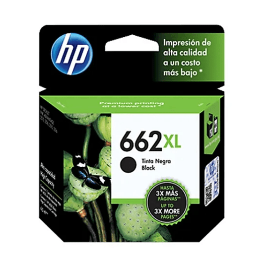 HP 662XL BK Cartridge Hp Original Negro
