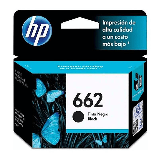 HP 662 BK Cartridge Hp Original