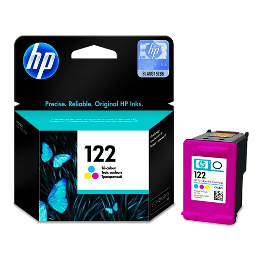 Hp 122 Tricolor Cartridge Original