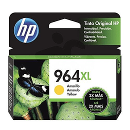 HP Tintas-Cartridge Yellow 964 XL