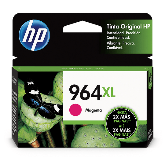HP Tintas-Cartridge Magenta 964 XL