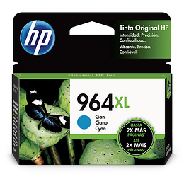 HP Tintas-Cartridge Cyan 964 XL
