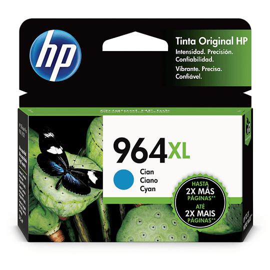 HP Tintas-Cartridge Cyan 964 XL