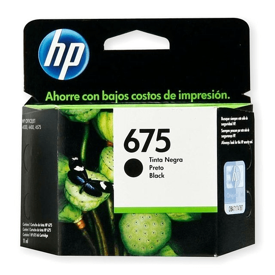 Hp 675 Negro CN690AL