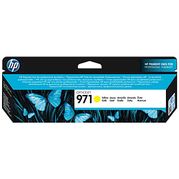 Hp 971 Yellow Cartridge CN624AM