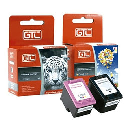 Pack hp 21 y 22 Alternativa Comp Hp GTC
