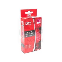 670XL Magenta Cartridge Alternativo Gtc comp Hp