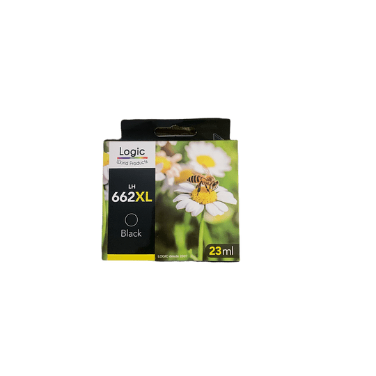 662XL Negro Alternativo, Cartucho Tinta Logic