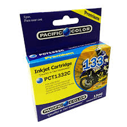 133 Cyan Cartridge Pacific Color Comp Epson