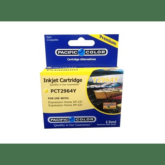 296 13ml Yellow Cartridge Alternativo Pacific Color