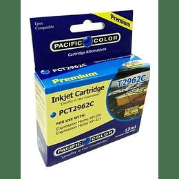 296 13ml Cyan Cartridge Alternativo Pacific Color