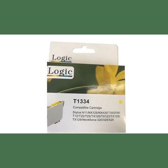 133 Yellow Cartridge Alternativo Comp Epson Logic