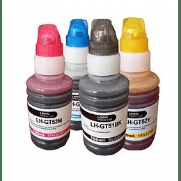 gt51 (gt53) y gt52 Pack de Tintas Alternativo compatible hp
