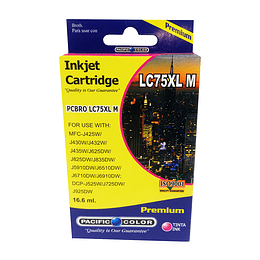 LC75M Cartridge Alternativo Magenta Pacific Color Compatible Brother
