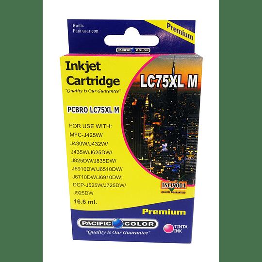 LC75M Cartridge Alternativo Magenta Pacific Color Compatible Brother