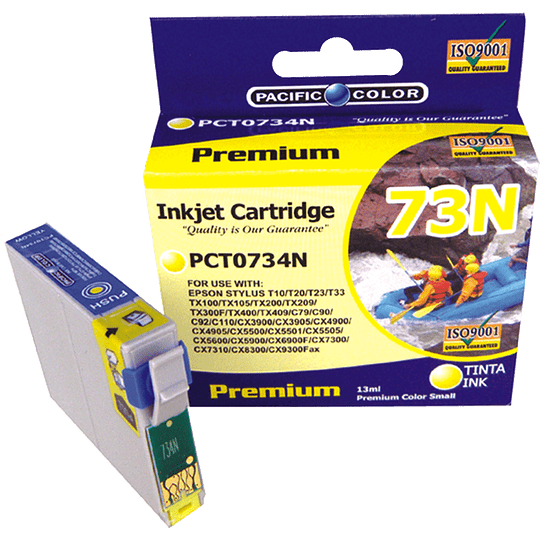 734N Yellow Cartridge Pacific Color Compatible Epson